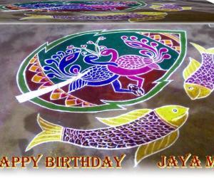 HAPPY BIRTHDAY JAYA MAM