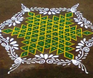 Rangoli: Margazhi Utsavam Day-15