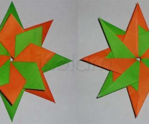 Origami Rangoli