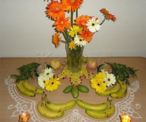 Rangoli: Happy Yugaadi (Ugaadi)