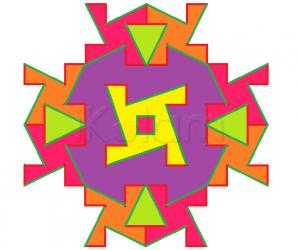 Rangoli: Puzzle answer - version 2