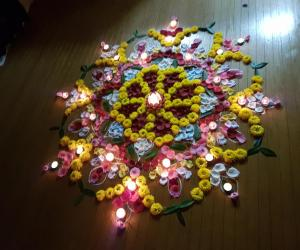 Rangoli: Diwali2016