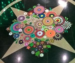Rangoli: 2016-Diwali Lobby