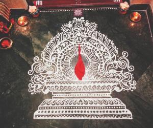 Rangoli: 2017-Kartigai Deepam-3