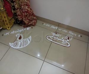 Rangoli: 2017-Kartigai Deepam-1-2