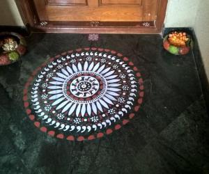 Rangoli: 2017-Navratri-4