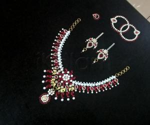 Rangoli: 2017-Navratri-9-A parting gift for the Goddess