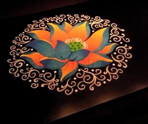 2018- Neelothpala flower for the Goddess NeelothpalaabbaaL of Thiruvaaroor(TamilNadu)