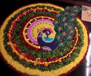 Rangoli: 2018- Onam- PookaLam