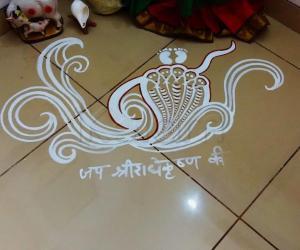 2019- Janmashtami- Pooja Room- Krishna