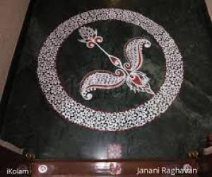 2020- Shri Rama Navami- Threshold Kolam...