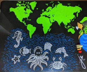 Home Kolams- World map