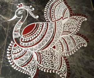 2020- Aarudra Dharshanam/Thiruvaadhirai- Entrance Maakkolam....