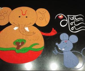 2021- Ganesh Chathurthi- Bal Ganesh with His Mooshak...