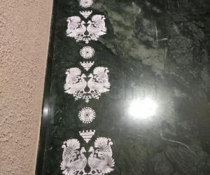 Home Kolams- using rangoli stencils..