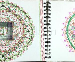 Kolam Notebook Kolams- 165