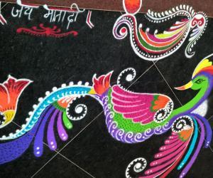 Rangoli: Navaratri 2015