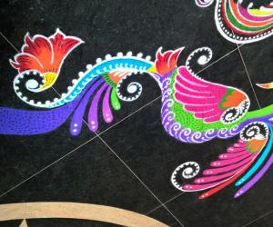 Rangoli: 2015-Navratri-Lobby-2
