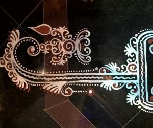 Rangoli: 2016-Ganesh Chaturthi-Lobby-3