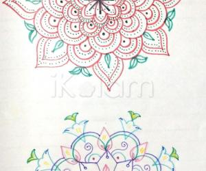 Kolam Notebook Kolams- 102