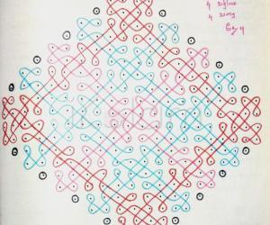 Kolam Notebook Kolams- 103