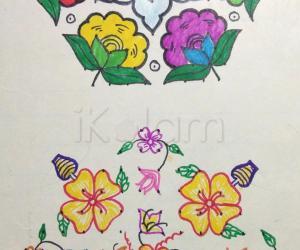 Kolam Notebook Kolams- 11
