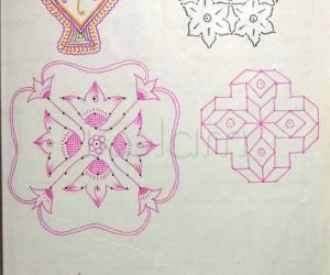 Kolam Notebook Kolams- 13