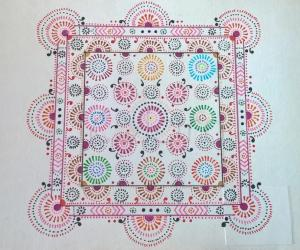Kolam Notebook Kolams- 142