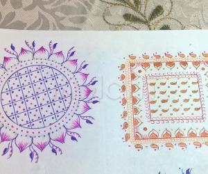 Kolam Notebook Kolams- 148
