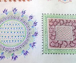 Kolam Notebook Kolams- 151
