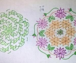Kolam Notebook Kolams- 32