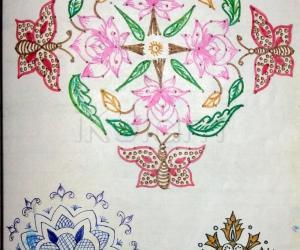 Kolam Notebook Kolams- 58