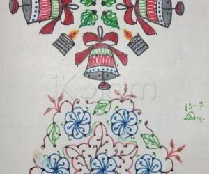 Kolam Notebook Kolams- 65