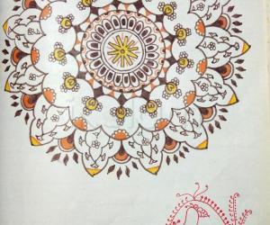 Kolam Notebook Kolams- 85