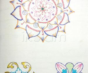 Kolam Notebook Kolams- 95