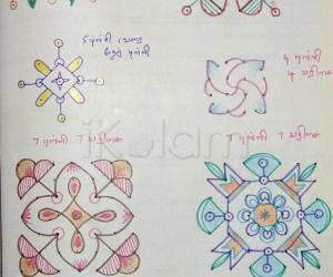 Kolam Notebook Kolams- 96