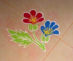 Rangoli: Tiny Flowers