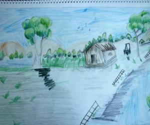 Rangoli: Scenery