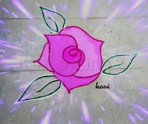 Rose Rangoli