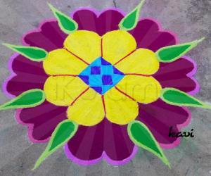 Rangoli: Bright and Colorful rangoli