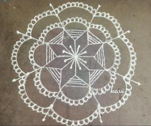 Marghazhi Day 6 kolam