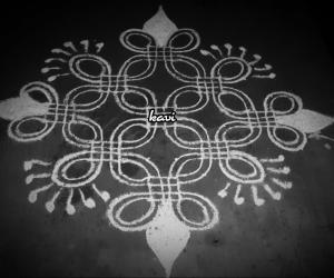 Rangoli: Simple dots kolam