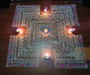 Diwali Rangoli Contest - 2017