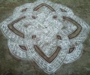 Rangoli: Makolam5