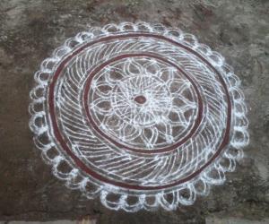 Rangoli: Makolam
