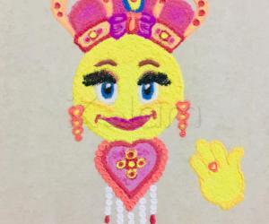 Emoji queen