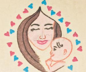 Mother's Day special rangoli