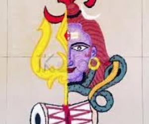 Mahashivaratri special rangoli