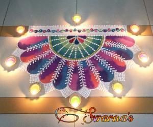 Diwali 2019 rangoli