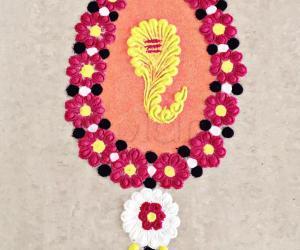 Lord Ganesha rangoli